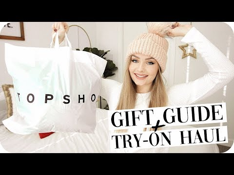 Holiday Gift Guide + Try On Haul from Topshop Canada! Mp3