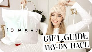 Holiday Gift Guide + Try On Haul from Topshop Canada!