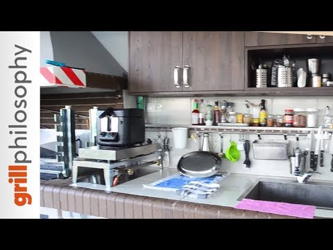Outdoor kitchen grill installation | Grill philosophy