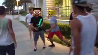 Real Fight - w/Minecraft/roblox sons