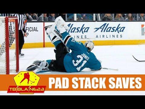 NHL Pad Stack Saves