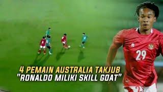 """""""KAKINYA SEPERTI PUNYA MAGIC""""😱 Ronaldo Kwateh Buat 4 Pemain Australia Seketika Terdiam"""