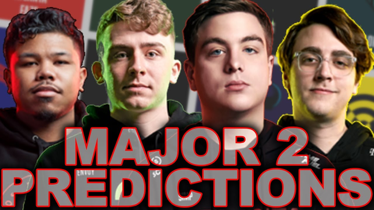 Major 2 Bracket PREDICTIONS! Who Comes Out on Top? OpTic, FaZe, EMPIRE, SUBLINERS, The Field?
