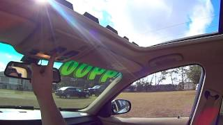 Quick Fix For Stuck And/or Sticking BMW Sunroofs