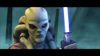 Кит Фисто против Генерала Гривуса Звёздные войны Войны клонов (1 сезон 10 серия)