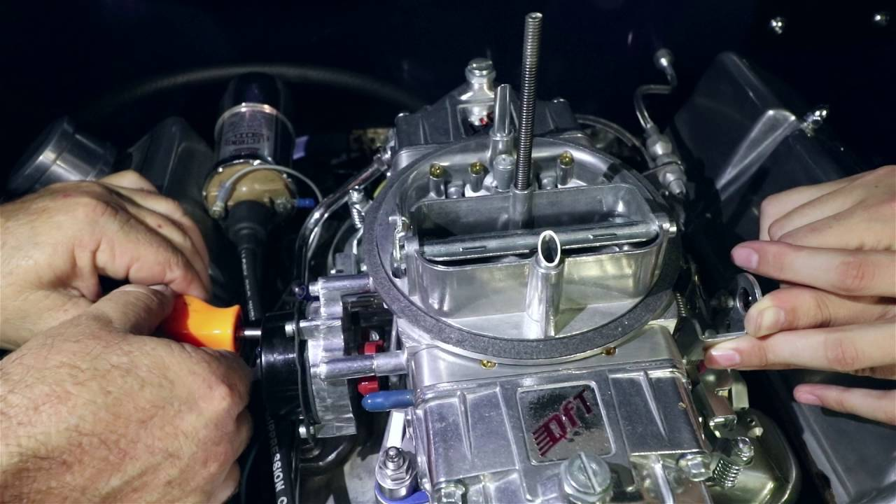 1977 Chevy Alternator Wiring Diagram How To Adjust A Carburetor Automatic Choke Youtube