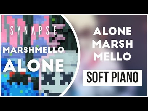Alone - Marshmello | Soft Piano Cover | Sleep Music | White Noise | Ringtone | Alarmtone