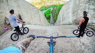 MTB VS BMX HILLBOMB RACE