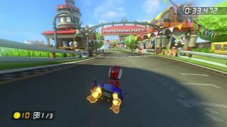 Mario Circuit - 1:42.953 - MattC (Mario Kart 8 World Record)