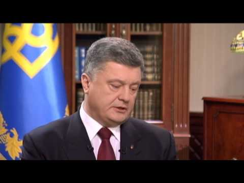 Poroshenko Interview: Ukraine to get lethal weapons if Russia increases aggression