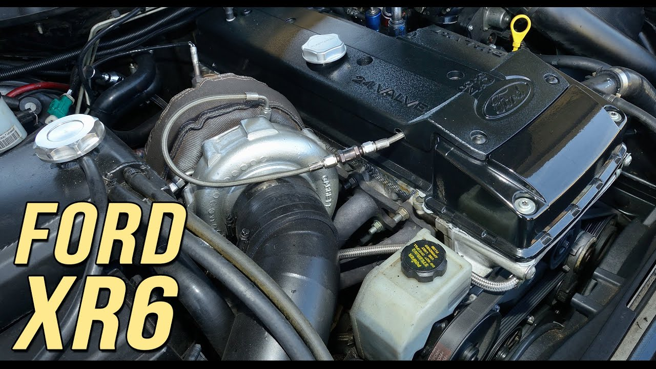 9-second Ford XR6 turbo by MC2 by Fullboost