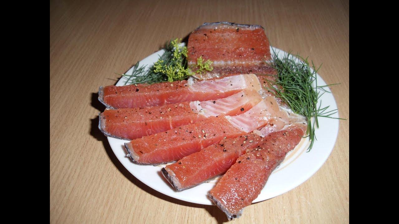 Рецепт засолки красной рыбы в домашних условиях кета
