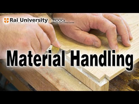 Material Handling (Introduction to Carpentry)