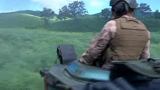 US Marines Assault Amphibious Vehicle (AAV-7A1) Riding Trails in Japan | AiirSource