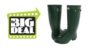 Hunter Huntress Green Boot Best Price Online Deal