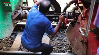 How to joint engine with passenger Train of bangladesh railway