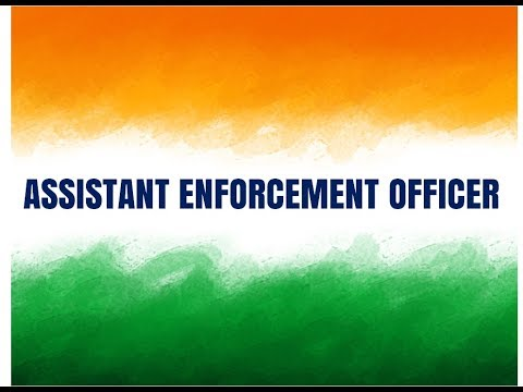 Assistant Enforcement Officer selected through SSC CGL