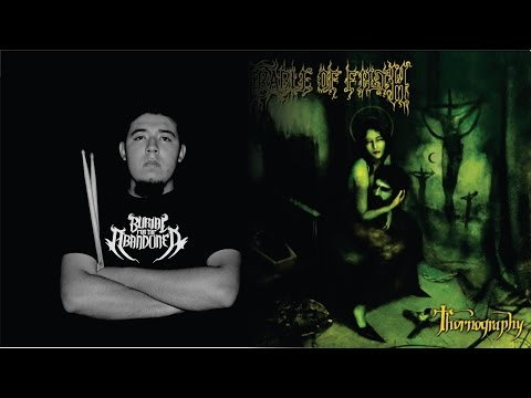 Cradle of Filth - The Foetus of A New Day Kicking [Drum Cover] -Azael Cruz-