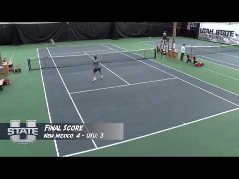 Utah State Men's Tennis vs. New Mexico 2017