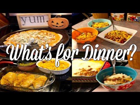 What's for Dinner?| Easy & Budget Friendly Family Meal Ideas| September 2019