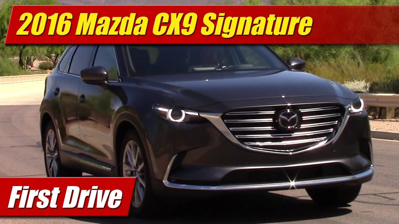 2016 Mazda CX9 First Drive  YouTube