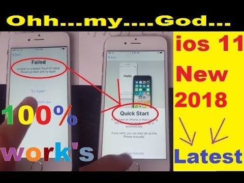 ios 11.0.2 icloud bypass activation lock using Quick Start 100% working latest 2017