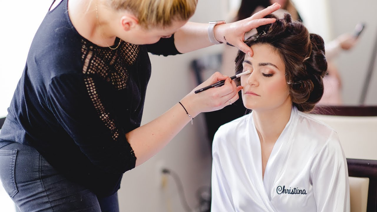 How To Photograph A Wedding Bride Getting Ready: Breathe