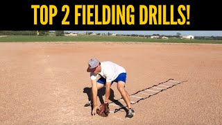 top 2 baseball fielding drills for youth players