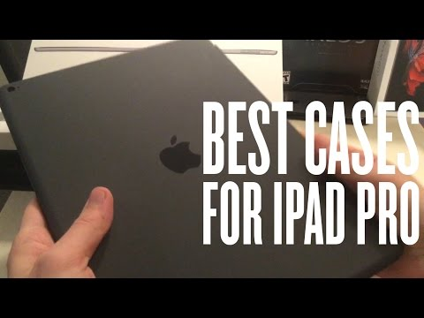 Best Cases For IPad Pro!! - Review (Silicone Case & Smart Cover) 2019 2nd Gen & 1st Gen