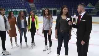 Андрей Юртаев знакомится с кандидатками в группу Ice Girls