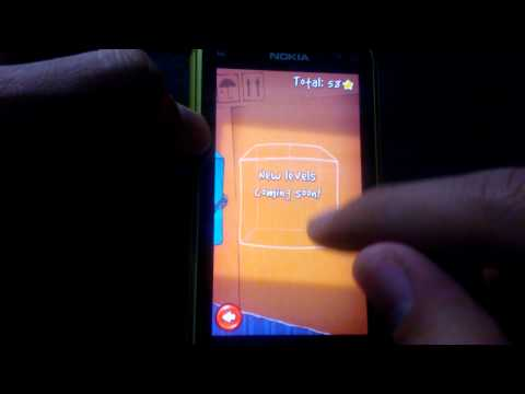 Cut The Rope for Symbian Demoed on Nokia N8