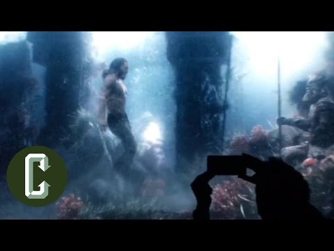 Aquaman Test Footage Revealed from Justice League - Collider Video