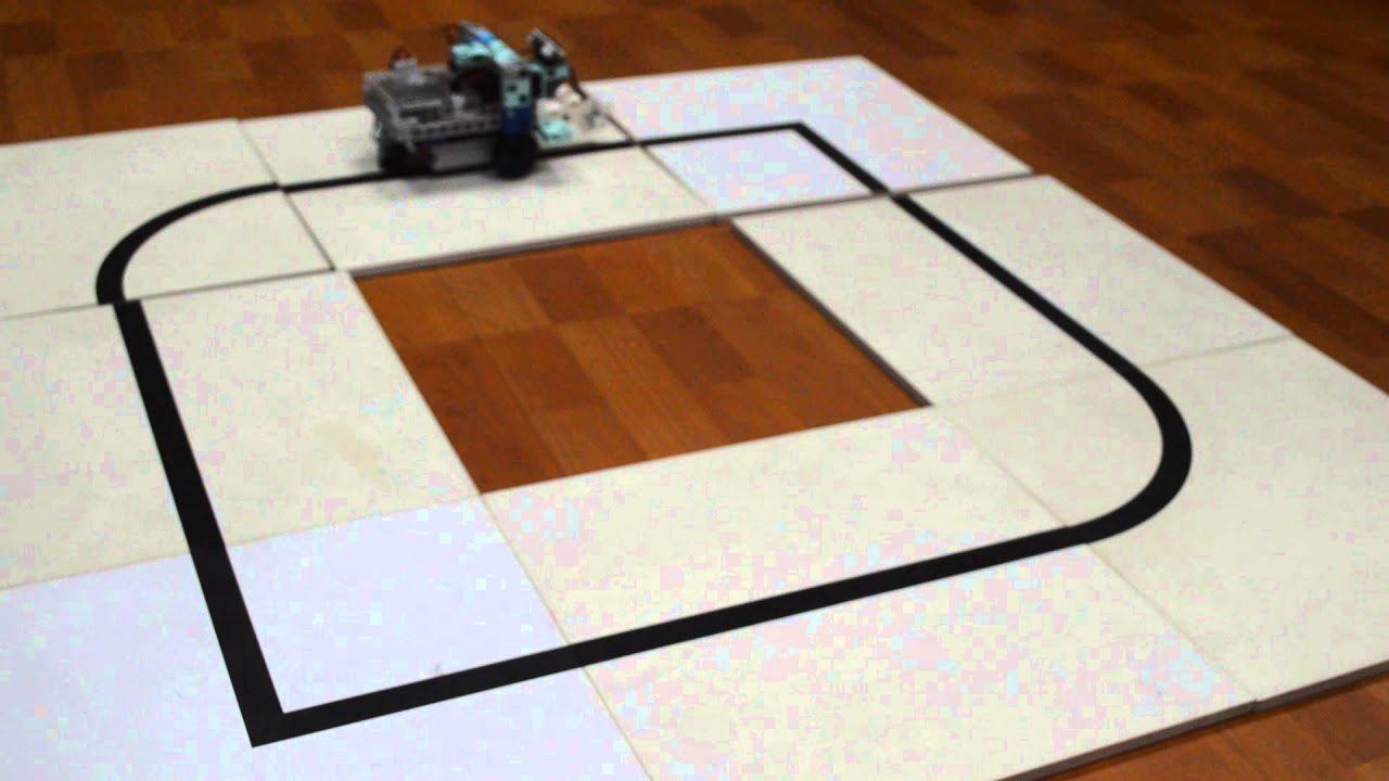 Artec Robotist Sensor Car Line Tracking Youtube