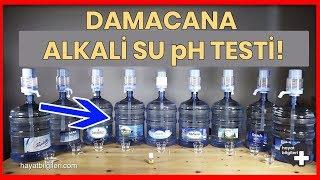 Pet Damacana pH Testi - Damacana Su kullanıyorsanız Mutlaka İzleyin! (Sponsorlu Değildir)