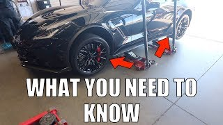 These Corvette Z06 Tires Are Trashed - $ Cost to Replace   My ZR1 Update!!