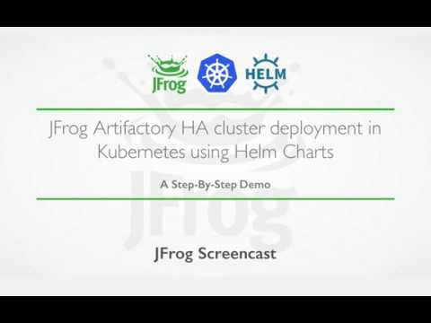 Helm Repository for Kubernetes | JFrog Artifactory