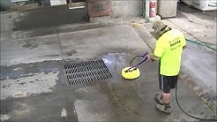 High Pressure Cleaning - Cleaning Of Truck Refueling Bay