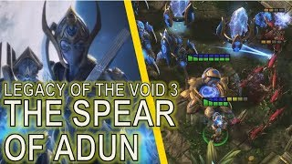 Starcraft II Legacy of the Void Mission 3   The Spear of Adun [Full Clear]
