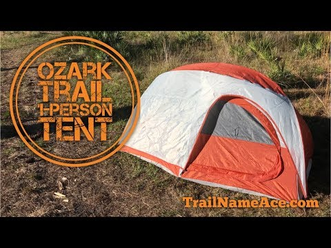 Ozark Trail 1 Person Backpacking Tent - Budget Backpacking Gear