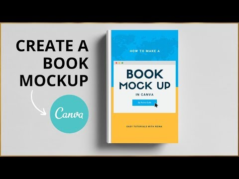 How To Create Book Mockup In Canva - NO PHOTOSHOP NEEDED!