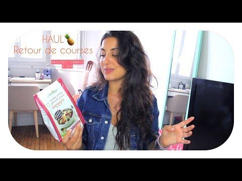 HAUL retour de courses 🍌🥕🥒 Veggie & Bio