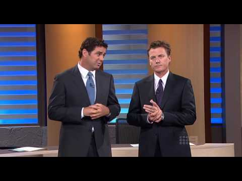 The Footy Show - Kangaroos speak about Chicken Incident 08.04.2009