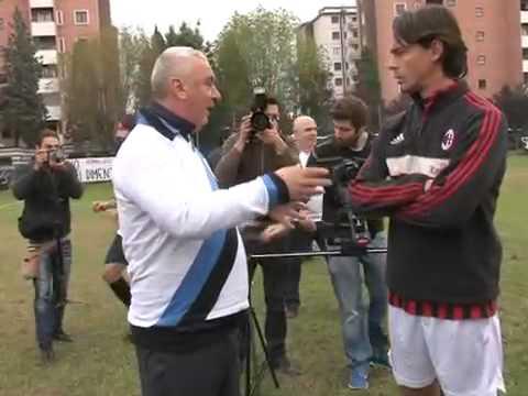 A match in memory of Claudio Lippi in Segrate in Milan.
