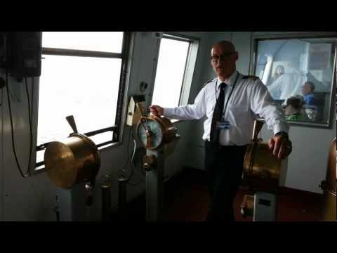 Aboard The S.S. Badger, Captain Curtis Explains How To Use Engine Order Telegraphs