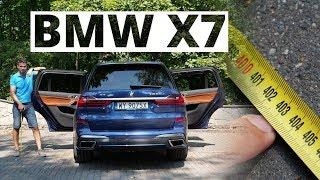 BMW X7 - powodzenia z szukaniem miejsca