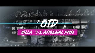#OTD in 1998: Aston Villa 3-2 Arsenal