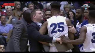 New Orleans College Player Chokes Teammate During Timeout| NCAA Tournament