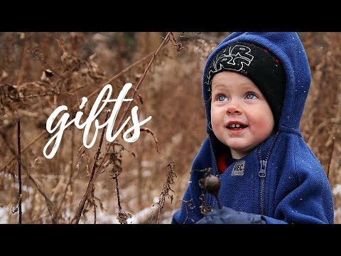 Minimalist Christmas Gifts For Our Kids! + Q&A