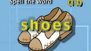 study Clothes Words Part 6 of 6 - Write the Word.