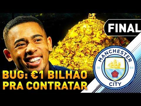 DESAFIO: BUG DO €1 BILHÃO PRA CONTRATAR! 🤑 | Mini Carreira Viajante #10 - FIFA 18 - Manchester City